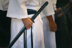 Japanse katana royalty-vrije stock afbeeldingen
