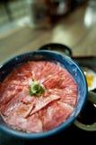 Japanse Keuken GyÅ ?sashidon Stock Fotografie