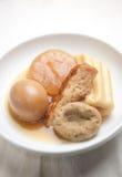 Japanse Keuken Oden en belang Stock Afbeeldingen