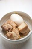 Japanse Keuken, Varkensvlees Kakuni Stock Fotografie