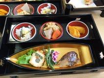 Japanse keuken (Voedsel van Japan) Stock Afbeeldingen