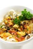 Japanse Keuken - Warme Salade Stock Afbeelding