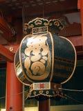Japanse lantaarn in asakusa Stock Afbeeldingen