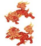 Japanse Leeuw Royalty-vrije Stock Foto