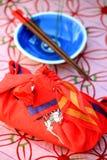 Japanse lunchdoos Stock Afbeeldingen