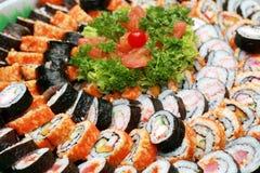 Japanse maki stock fotografie