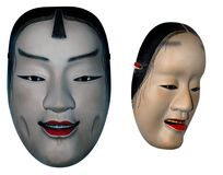 Japanse maskers Stock Afbeelding