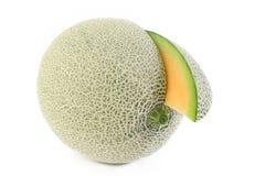 Japanse meloensinaasappel Royalty-vrije Stock Foto's
