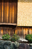 Japanse muur 2 Royalty-vrije Stock Fotografie