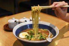 Japanse noedel Stock Foto's