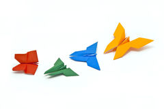Japanse origami Stock Afbeeldingen