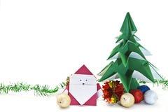 Japanse origami Royalty-vrije Stock Foto's