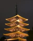 Japanse Pagode Stock Afbeeldingen