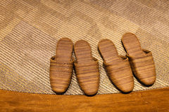 Japanse pantoffels Royalty-vrije Stock Afbeeldingen