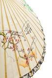 Japanse paraplu royalty-vrije stock afbeelding