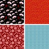 Japanse patronen Stock Afbeeldingen