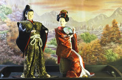 Japanse poppen stock foto