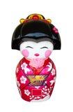 Japanse poppengipspleister royalty-vrije stock afbeelding