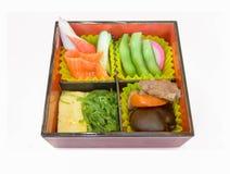 Japanse reeks Bento Stock Afbeelding