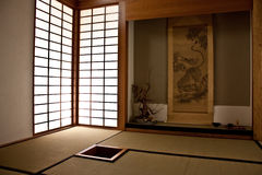Japanse ruimte stock afbeelding
