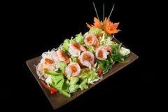 Japanse salade Royalty-vrije Stock Afbeeldingen