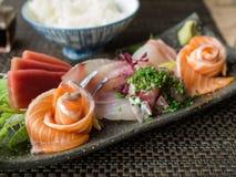 Japanse sashimi Royalty-vrije Stock Foto