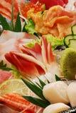 Japanse sashimireeks Stock Afbeeldingen