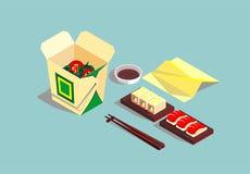 Japanse schotels Stock Foto's