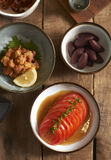 Japanse snack Royalty-vrije Stock Foto's