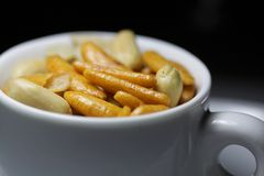 Japanse snacks royalty-vrije stock afbeelding