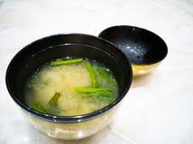 Japanse soep Royalty-vrije Stock Afbeeldingen