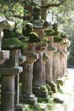 Japanse steenlantaarns Stock Foto