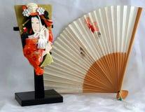 Japanse stijl 3 van het stilleven stock afbeeldingen