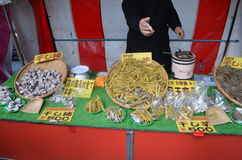 Japanse straatmarkt royalty-vrije stock fotografie
