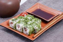 Japanse sush royalty-vrije stock foto's