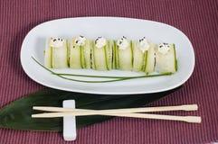Japanse sushi royalty-vrije stock afbeeldingen