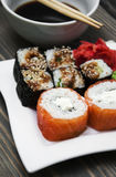 Japanse sushi Royalty-vrije Stock Afbeelding