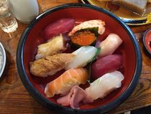 Japanse sushi royalty-vrije stock fotografie