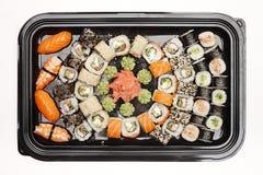 Japanse Sushibroodjes Stock Fotografie