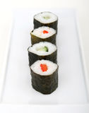 Japanse sushizeevruchten Stock Afbeeldingen