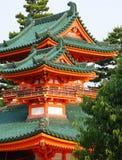 Japanse Tempel Royalty-vrije Stock Foto's