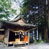 Japanse Tempel Royalty-vrije Stock Afbeeldingen