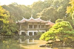 Japanse Tempel Stock Foto