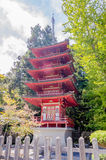Japanse Tempel in de Japanse Theetuin, San Francisco, de V.S. Stock Afbeeldingen