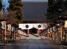 Japanse tempelingang royalty-vrije stock foto