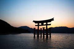 Japanse tempelpoort Royalty-vrije Stock Afbeeldingen
