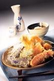 Japanse tempura Royalty-vrije Stock Foto