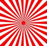 Japanse toenemende zonzonnestralen Stock Afbeeldingen
