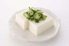 Japanse Tofu in de zomer Stock Afbeelding