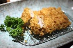 Japanse Tonkatsu stock afbeelding